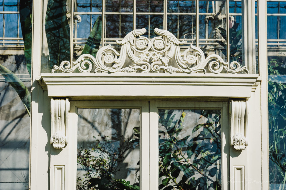 Ornate Greenhouses at the Botanic Gardens, Dublin