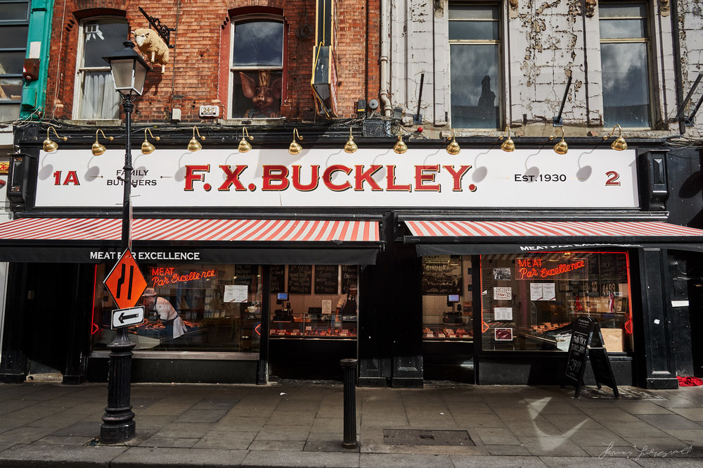 FX Buckley on Talbot Street, Dublin