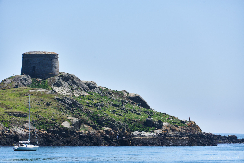 Dalkey Island, donde apareció el cadáver de Laura