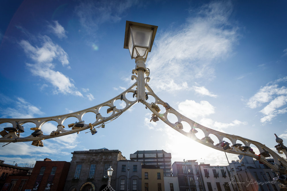 Lamp Post over the Ha'Penny Bridge