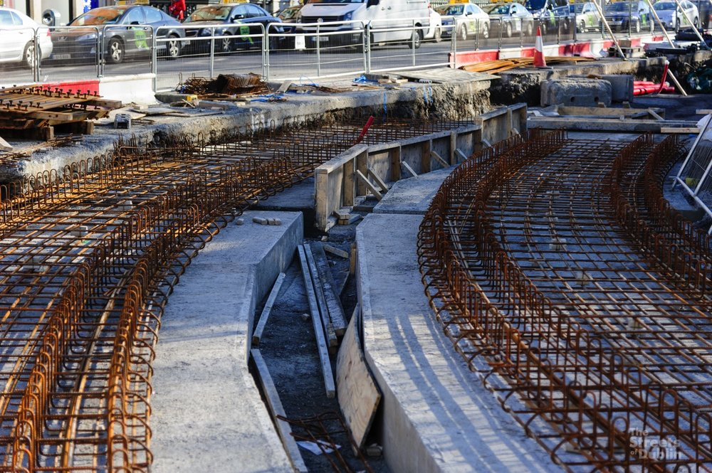 Luas track foundations