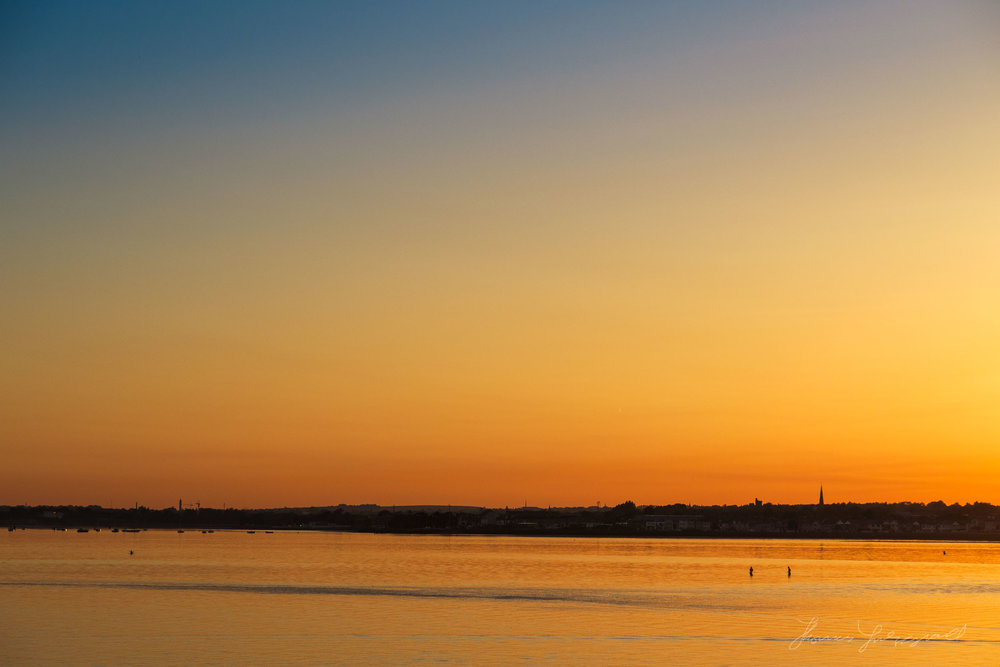 Sunset over Clontarf, Co. Dublin