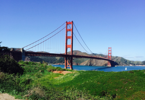 The famous Golden Gate bridge – inspiration for a future track you can ride on the ebove B/01?