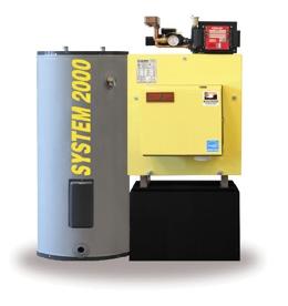oil heat boiler system 2000