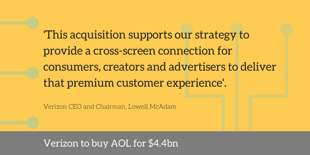 verizon aol $4.4 billion