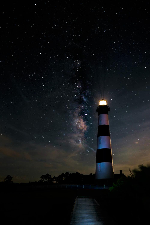 Walkway to Bodie Island Lighthouse