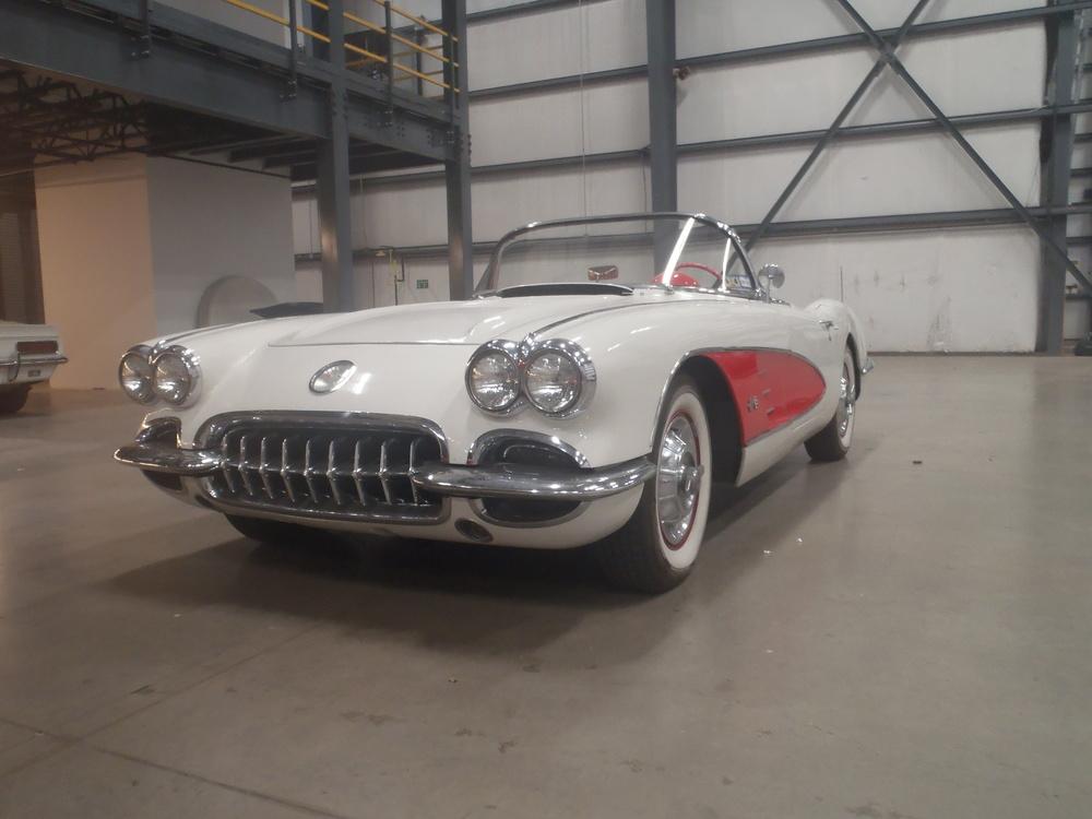 1958 Corvette paint and bodywork