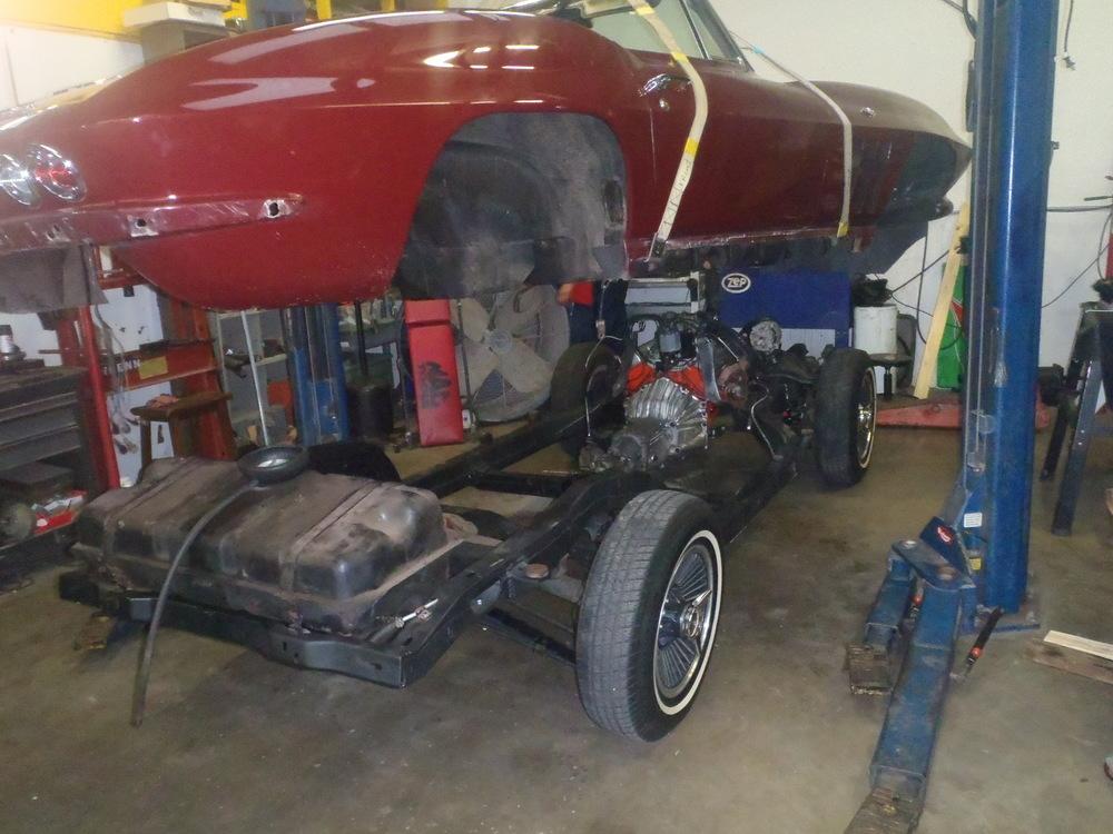 1965 Corvette frame swap