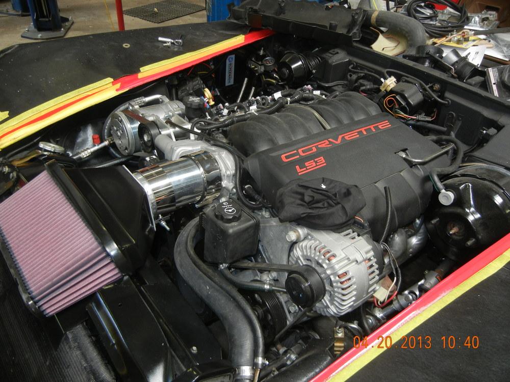 1972 Corvette Full Restomod