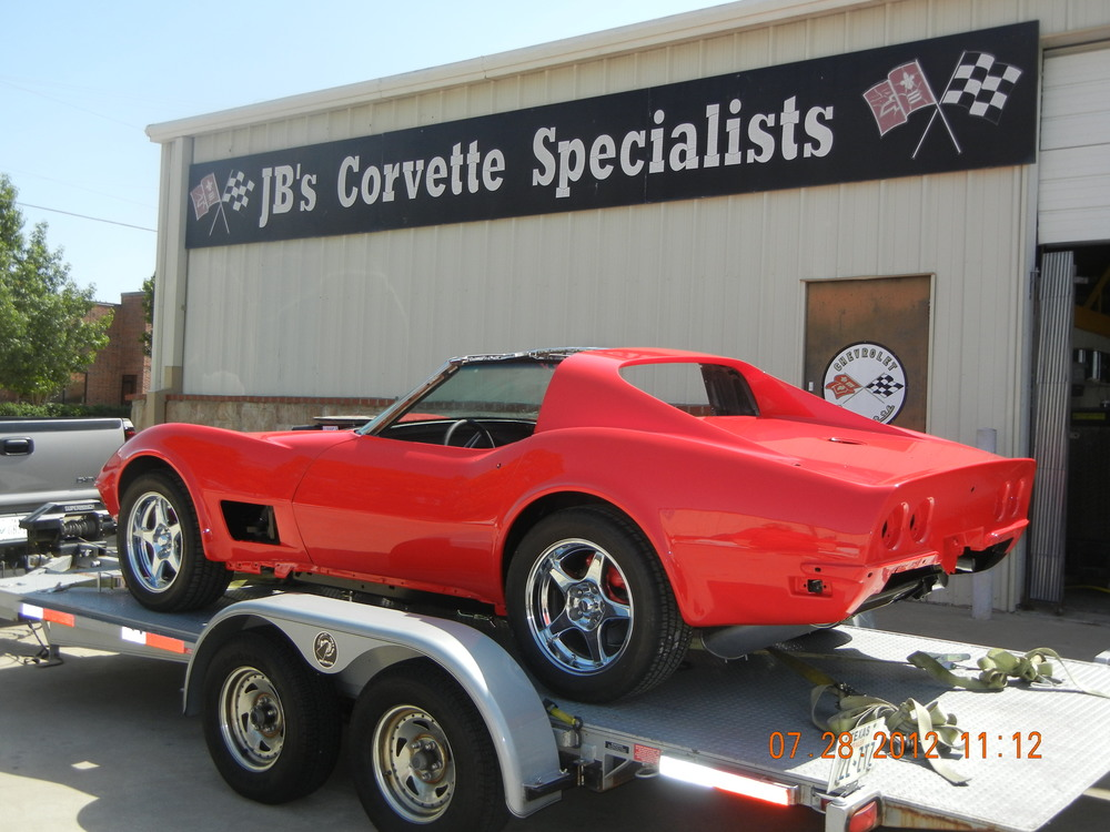 1972 Corvette Paint and Body