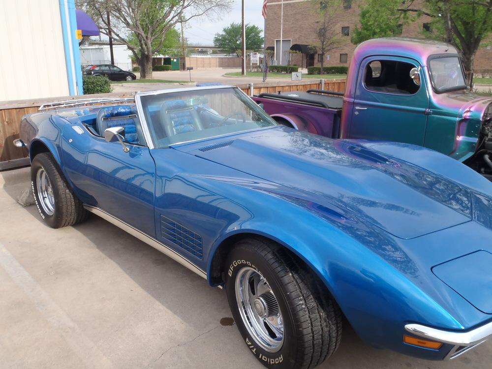 1971 Corvette full restoration