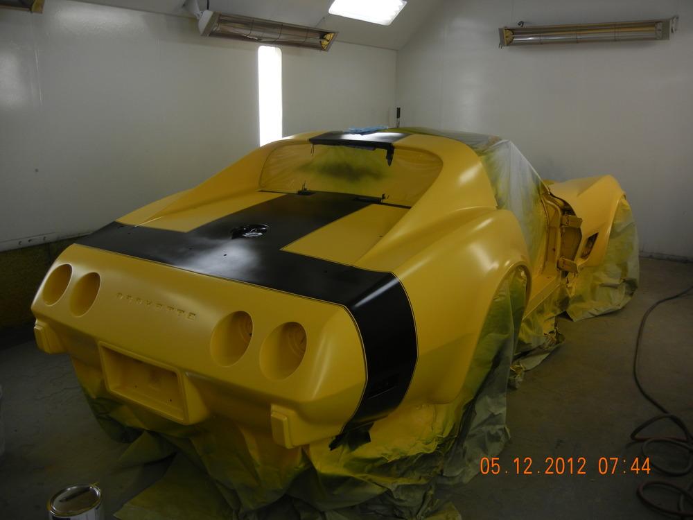1975 Corvette Full Restoration