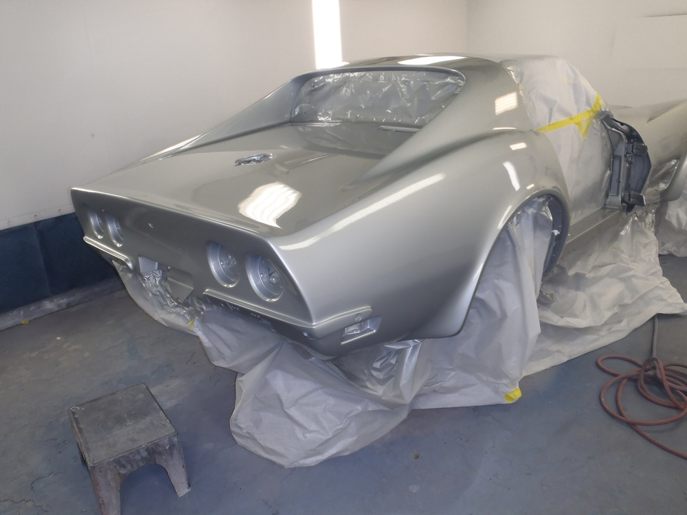 1970 Corvette Paint and Body
