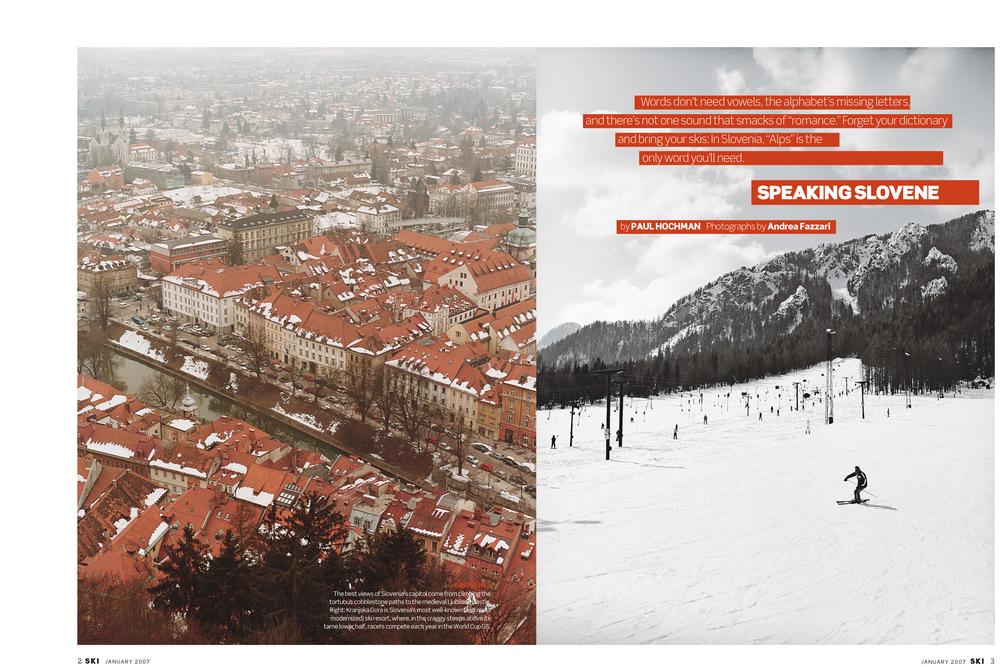 Client: Ski Magazine