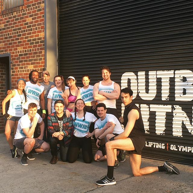 Had the best time #onset today with this amazing team shooting at @crossfitoutbreak . . . . . . . #ladytips #webseries #comedy #crossfit #brooklyn #williamsburg #fitness #fitnessmotivation #tv #movies #indiefilm #cast #actors #actor #christianity