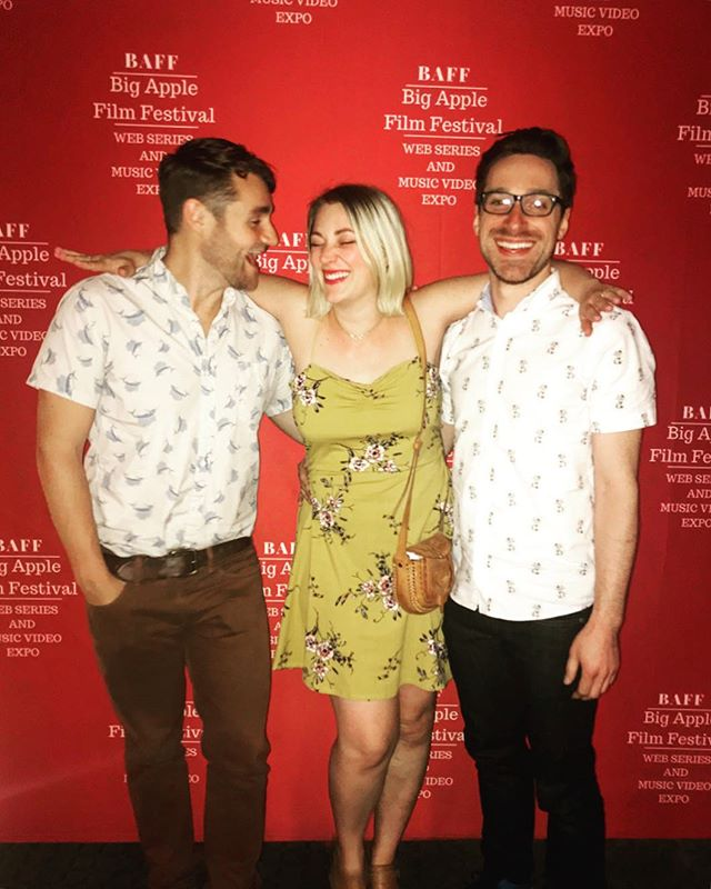 Thank you to @bigapplefilmfestival for having us this weekend. Clearly we had fun • • • • •  #lady #tips #filmfestival #trend #comedy #sva #ladies #bigapple #comedy #filmfest #women #chelsea #ladytips #girlpower #webisode #love #actress #webseries #newepisodes #actor #writers #filmmakers #indiefilm #filmmaking #director  #independentfilm #movies #tv #stepandrepeat #redcarpet #red