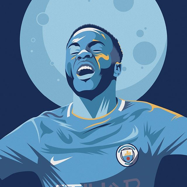 Will @sterling7 be on the scoresheet for @mancity against @ol tonight? - Grab your copy of @seasonannual 2017/2018 via our online shop. (Link in bio) Re-live all the action from last season - every game, every goal, all the best moments and all the best stats, beautifully illustrated. - #season #seasonannual #football #soccer #annual #premierleague #premier #league #amazing #original #illustration #design #graphic #graphicdesign #instagood #follow #photooftheday #magazine #book #availablenow #mancity #manchester #manchestercity #pep #guardiola #sterling #lyon #championsleague @championsleague