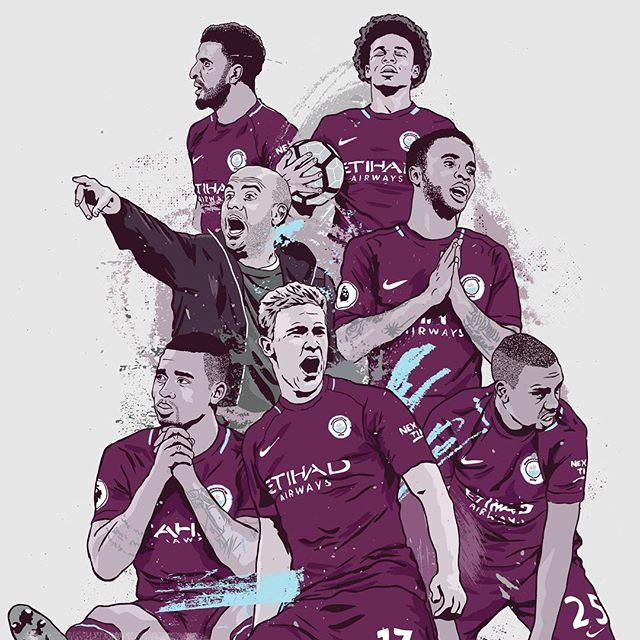 A stellar performance from @leroysane19 saw @mancity progress into the last 16 of the @championsleague last night, while. @mosalah looked to be coming back into form for @liverpoolfc on Tuesday. Will he continue it to the weekend vs. @manchesterunited? - Don't forget our 20% Christmas discount valid until the 17th December using code 'XMAS20' on our web shop (link in bio) - Order by the 17th December for Christmas delivery to UK addresses. - #season #seasonannual #football #soccer #annual #premierleague #premier #league #amazing #original #illustration #design #graphic #mancity #leroysane #liverpool #mosalah #championsleague #graphicdesign #instagood #follow #photooftheday #magazine #book #availablenow #stockingfiller #christmas