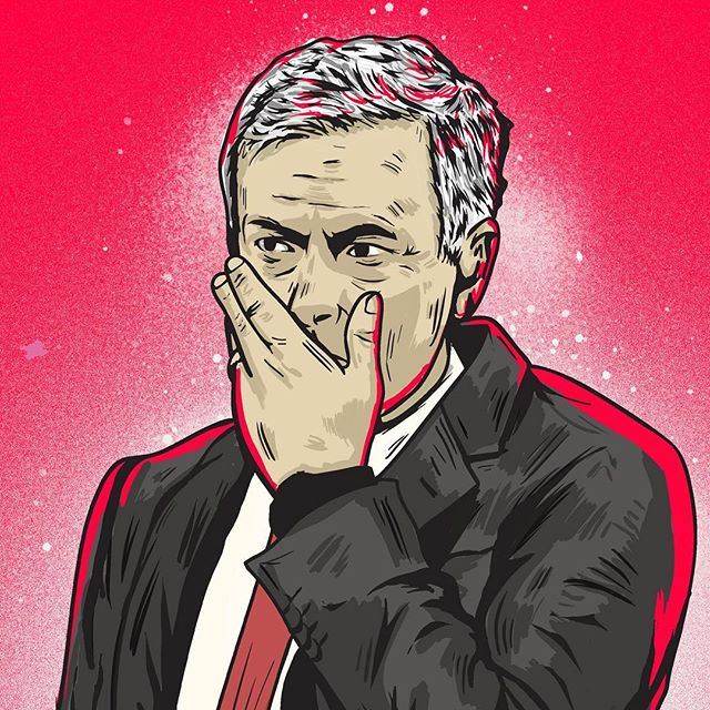 After a bad day at the office this Sunday, Jose Mourinho has been sacked by @manchesterunited! Who's your tip to replace him? - Grab your copy of @seasonannual 2017/2018 via our online shop. (Link in bio) Re-live all the action from last season - every game, every goal, all the best moments and all the best stats, beautifully illustrated. - Illustration: @scott_mcroy - #season #seasonannual #football #soccer #annual #premierleague #premier #league #amazing #original #illustration #design #graphic #graphicdesign #instagood #follow #photooftheday #magazine #book #availablenow #mourinho #manunited #manchesterunited #mufc #championsleague