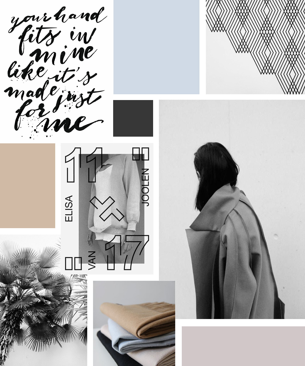 blog redesign moodboard