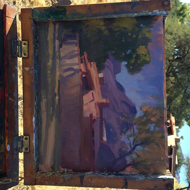 Painting in Tubac, Az