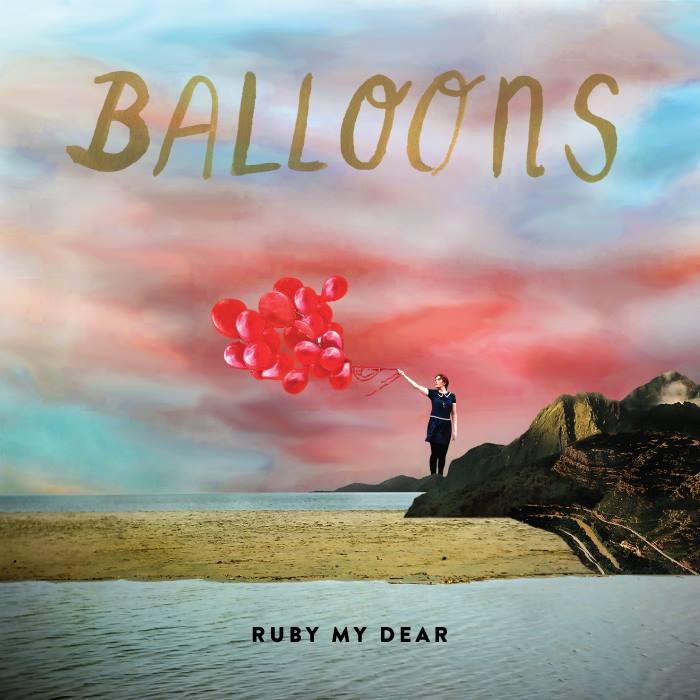 Ruby My Dear  Album: Balloons  Design: Olivia de Salve Villedieu  https://rubymydearband.bandcamp.com/album/balloons-ep