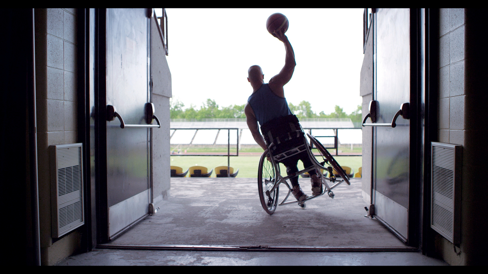 """My idea was to show these athletes as the rock stars they are,"" Dasgupta says, ""to show them as the standard and for the rest of the world needing to compete to be that.""    Read more:  http://strategyonline.ca/2014/08/08/check-it-out-parapan-am-athletes-getting-ready/#ixzz3DOZbXWgN"