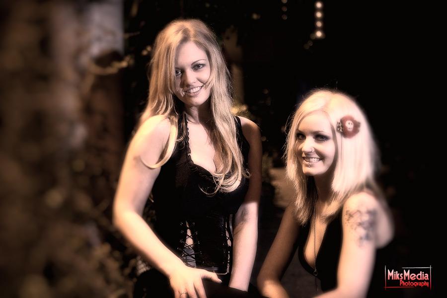 Ashley and Danni