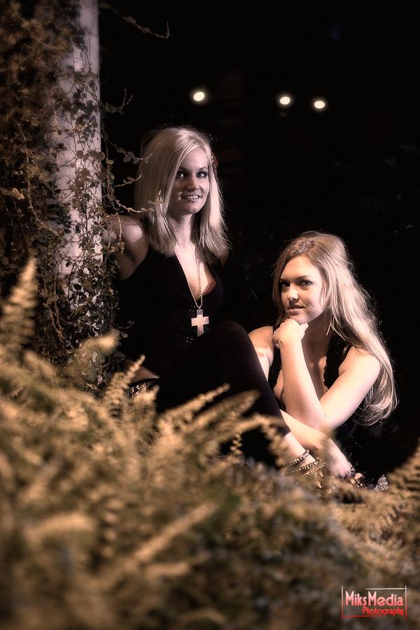 Danni and Ashley