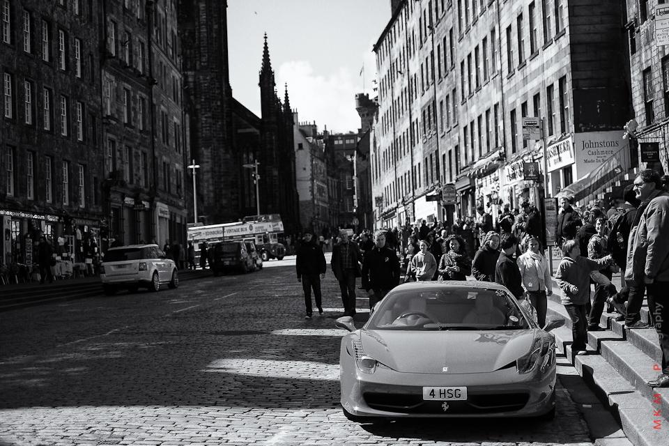 ferrari street edinburgh scotland