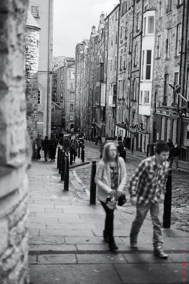 edinburgh scotland street photography