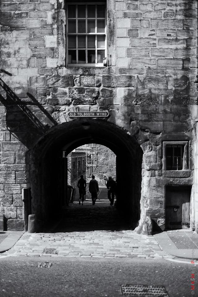 old street urban photography scotland