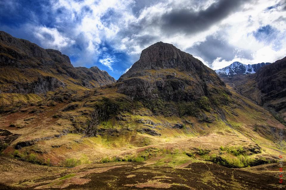 landscape scotland mountain