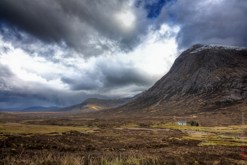 landscape scotland highland house