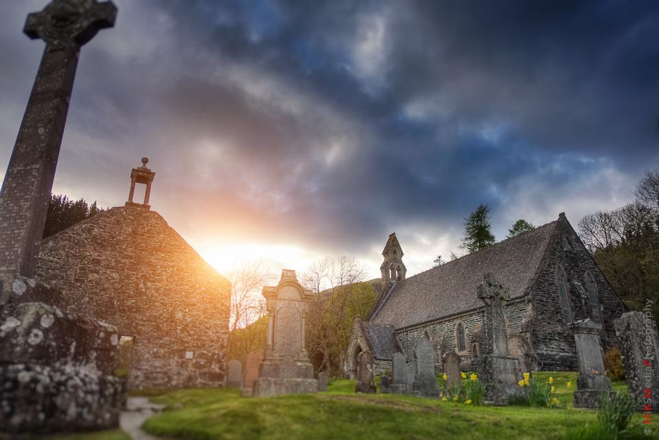 balguhidder scotland rob roy church cemetary