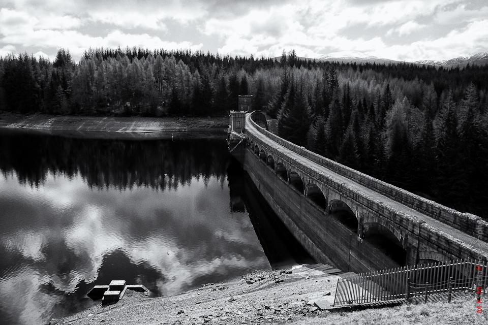 dam lake scotland