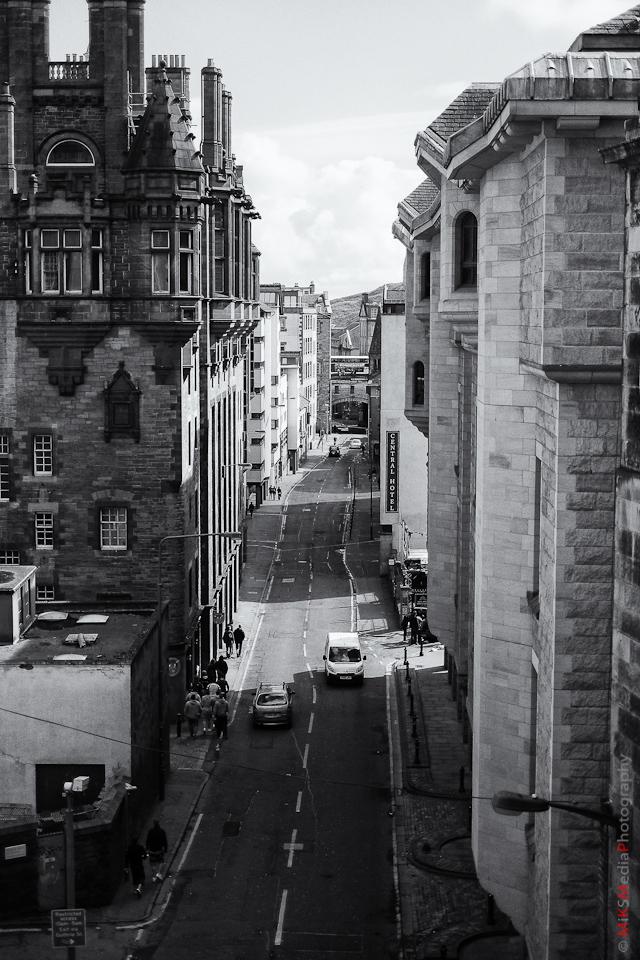 landscape street edinburgh