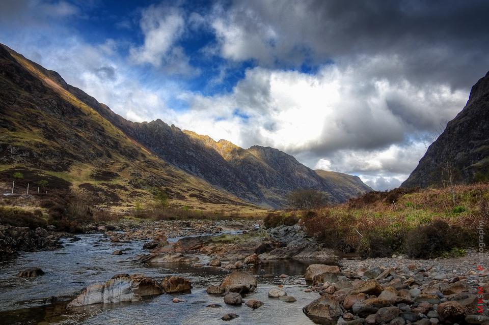 mountains scotland landscape nature