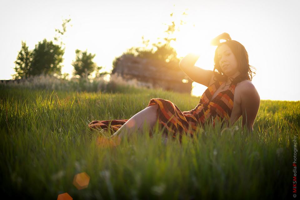 sexy sunset woman portrair edmonton photographer