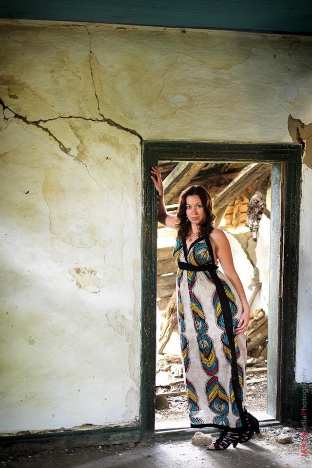 old building woman lifestyle edmonton photographer