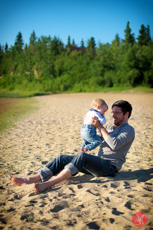 father child beach sand photography edmonton