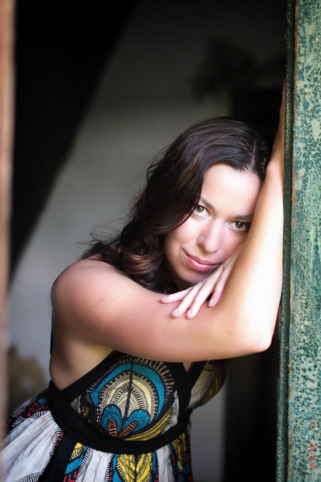 woman lady color dress portrait edmonton photography