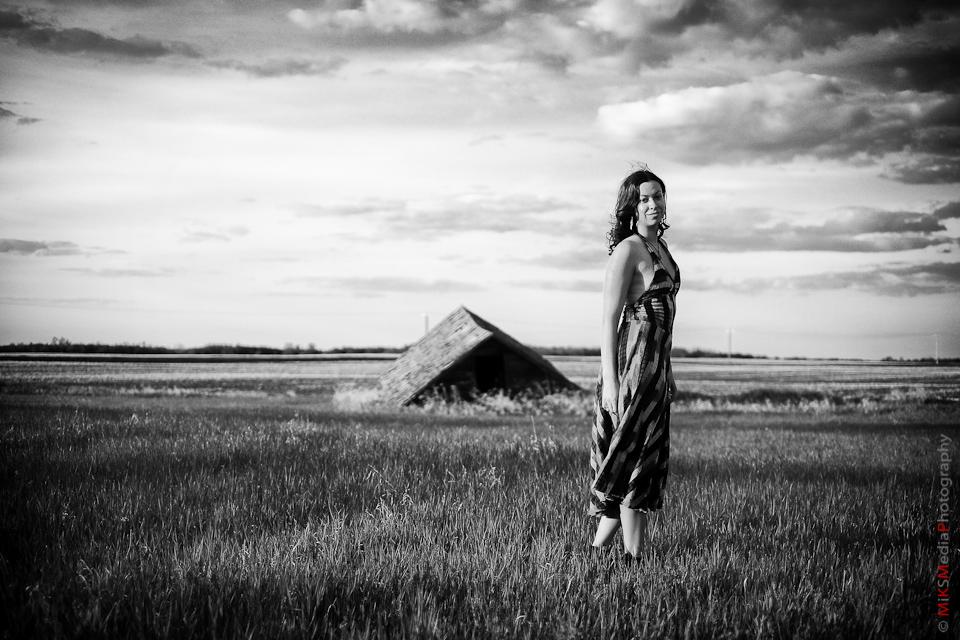 field alberta portrait woman photography