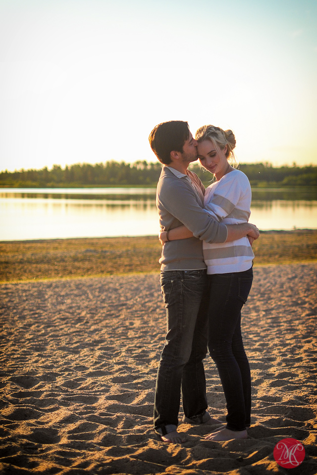 kiss couple love family edmonton photography