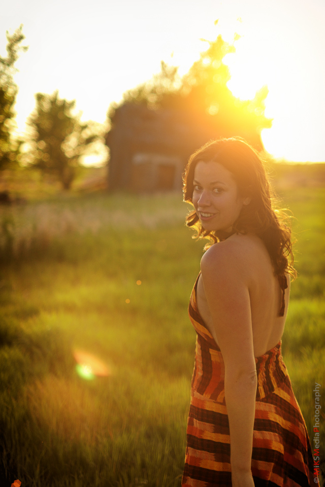 sunset woman sexy portrait edmonton photographer