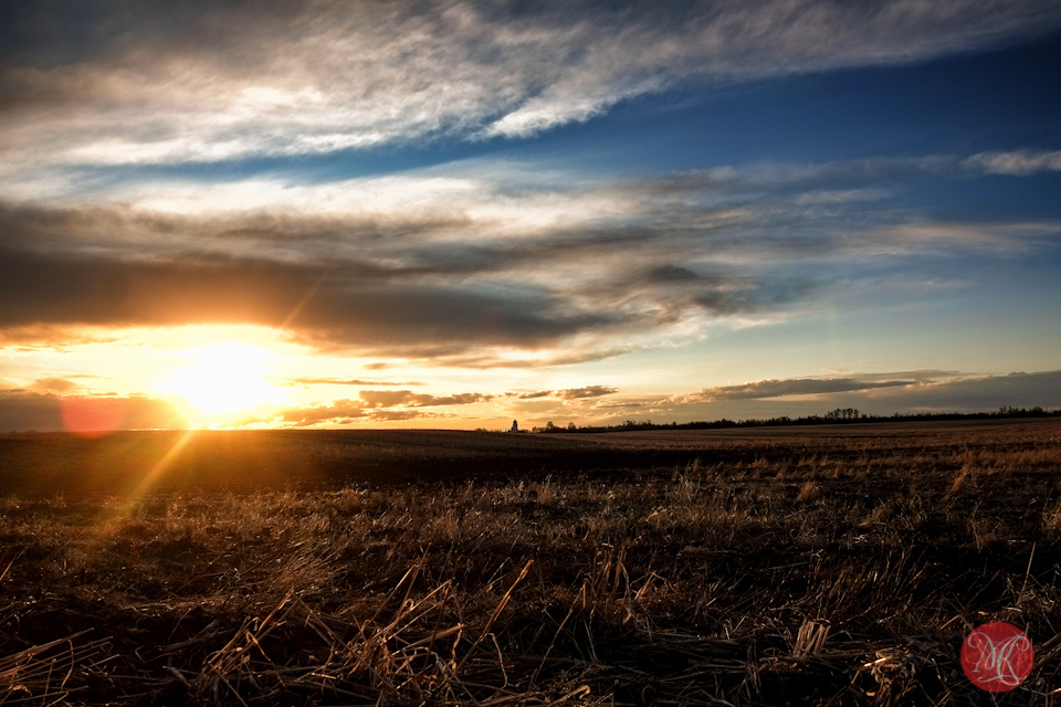 alberta sunset landscape edmonton photography