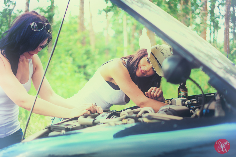 women truck alberta photographer