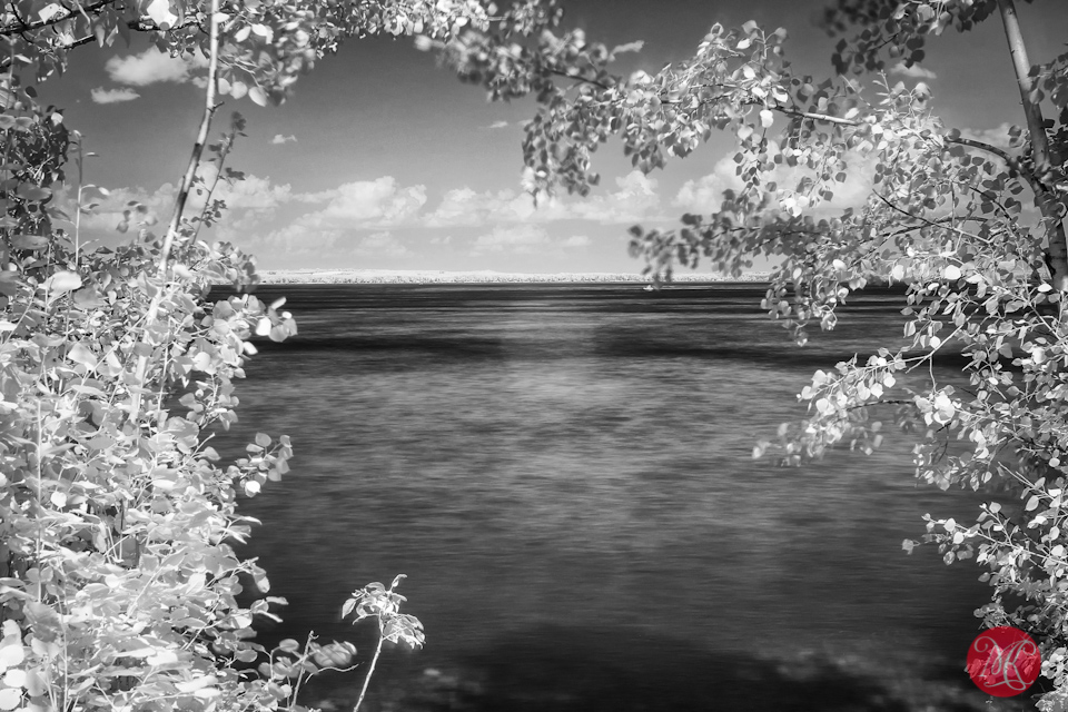 2 infrared lake water photographer