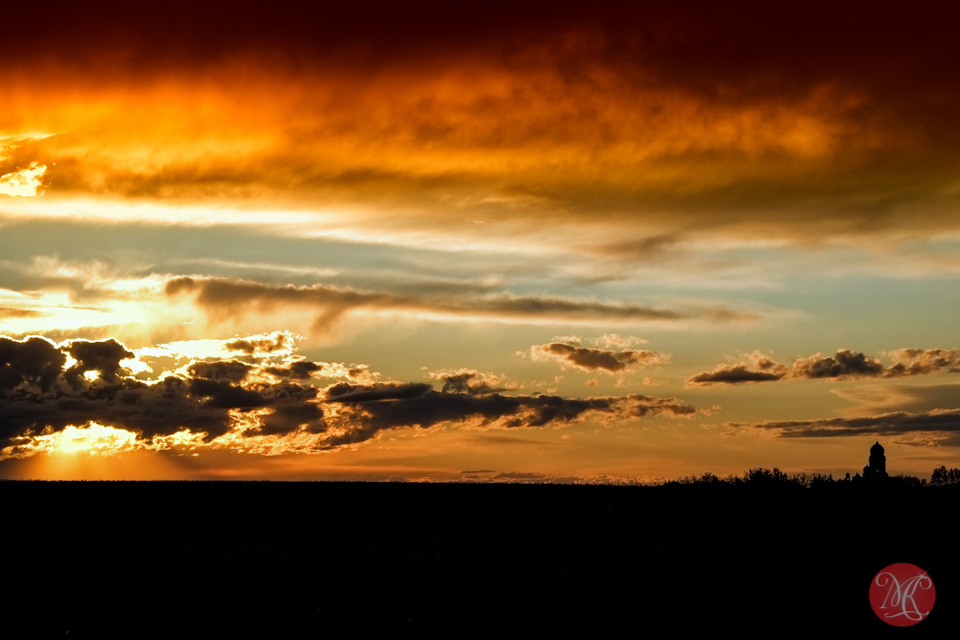 sunset clouds alberta edmonton landscape photographer