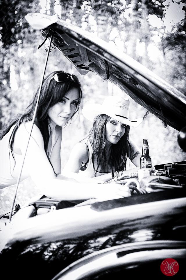women truck fix alberta cowgirl portrait photography